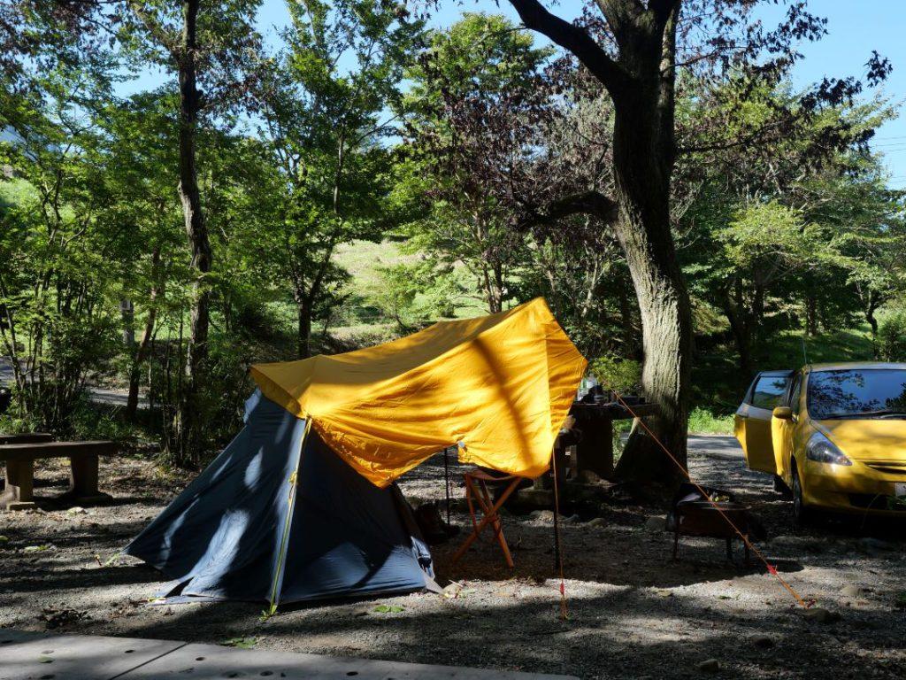乙女森林公園第一キャンプ場